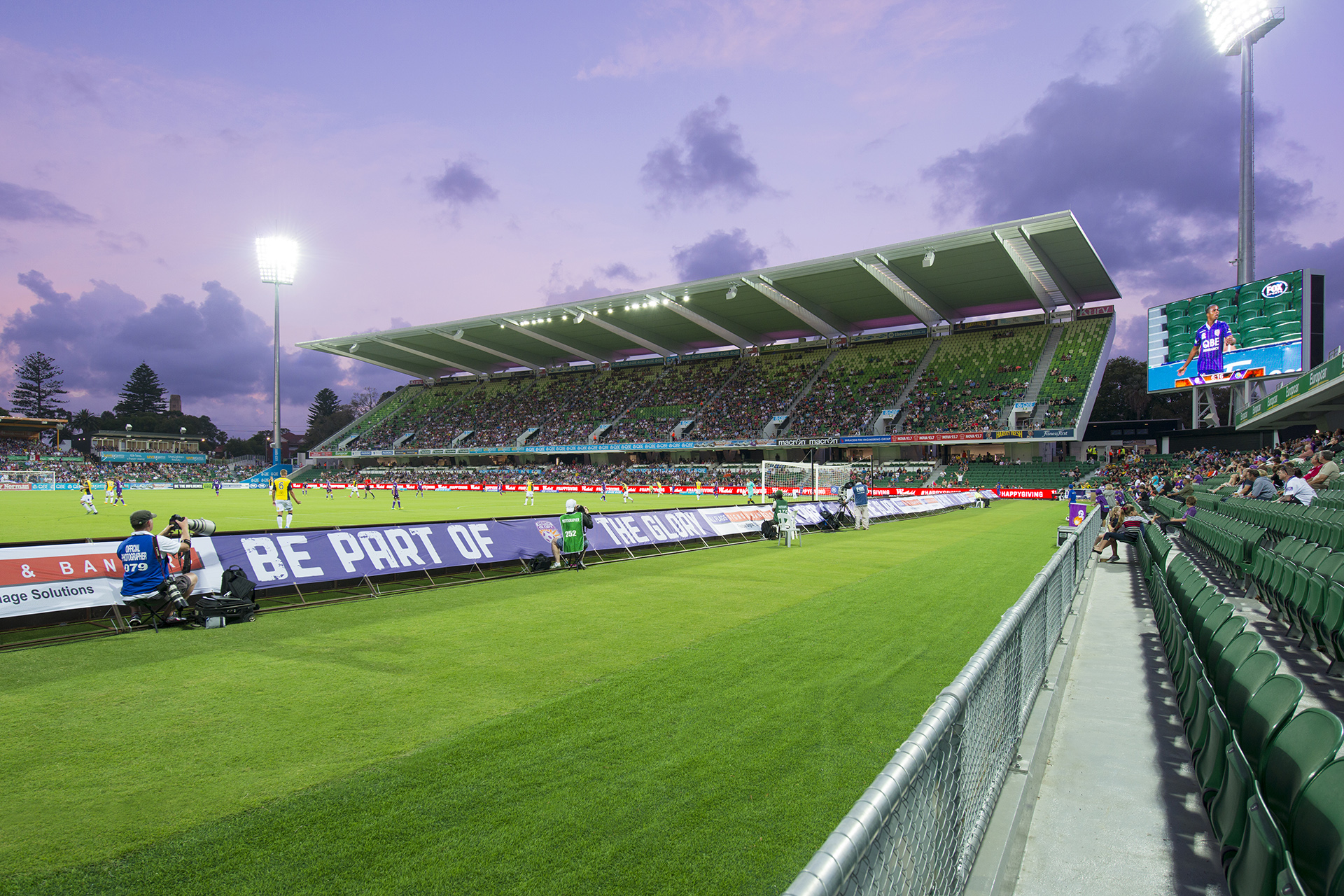 nib Stadium Architecture Photography