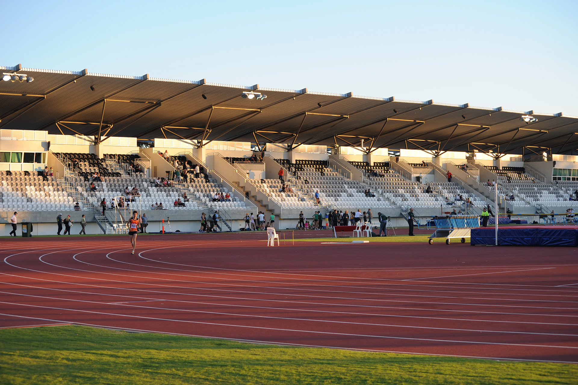 AK Reserve Athletics Stadium Architecture Photography